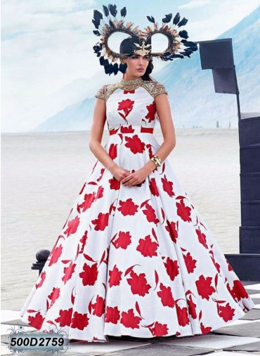 Get latest designer gown collection 2017-2018 Online at discount price in India at leemboodi