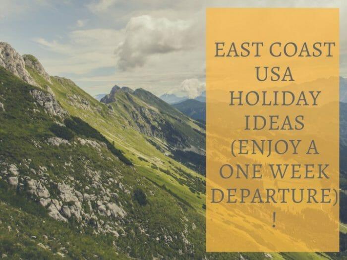 USA Holiday Ideas