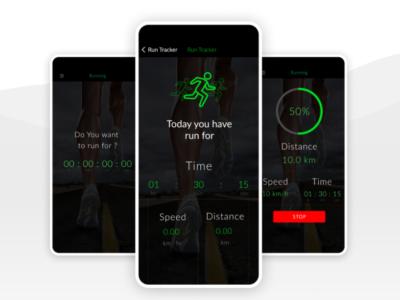 Running Tracking App