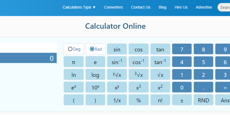 hyperbola calculator
